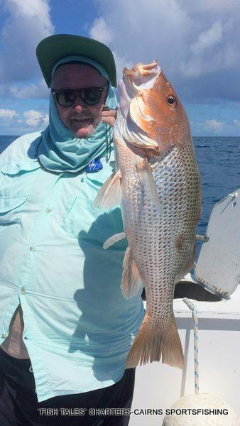 Reef Fishing for Fingermark