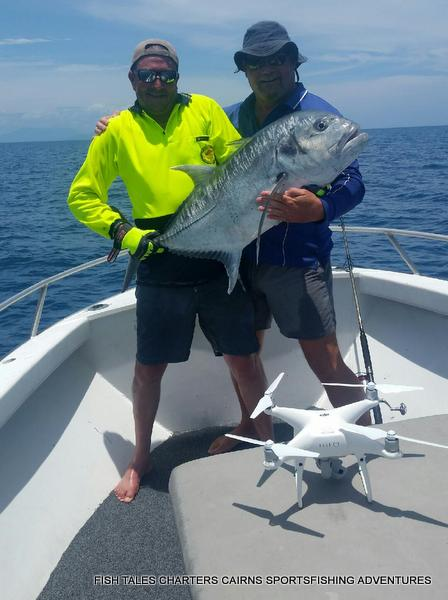 GT Popper fishing on the Reef for Matt and another one for good measure!