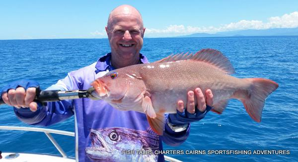 Reef fishing from Cairns on the Great Barrier Reef with Robbie