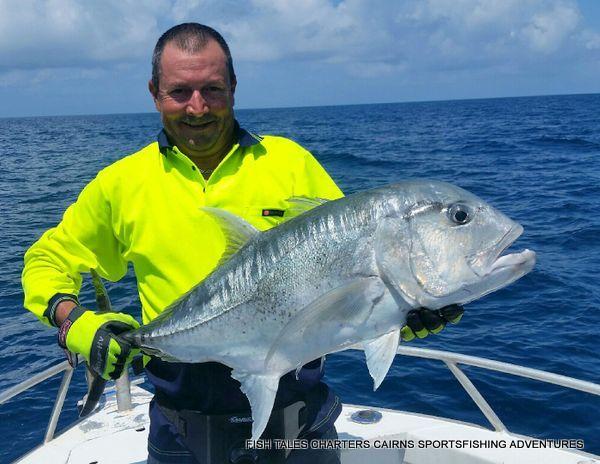 GT Popper fishing on the Reef for Matt