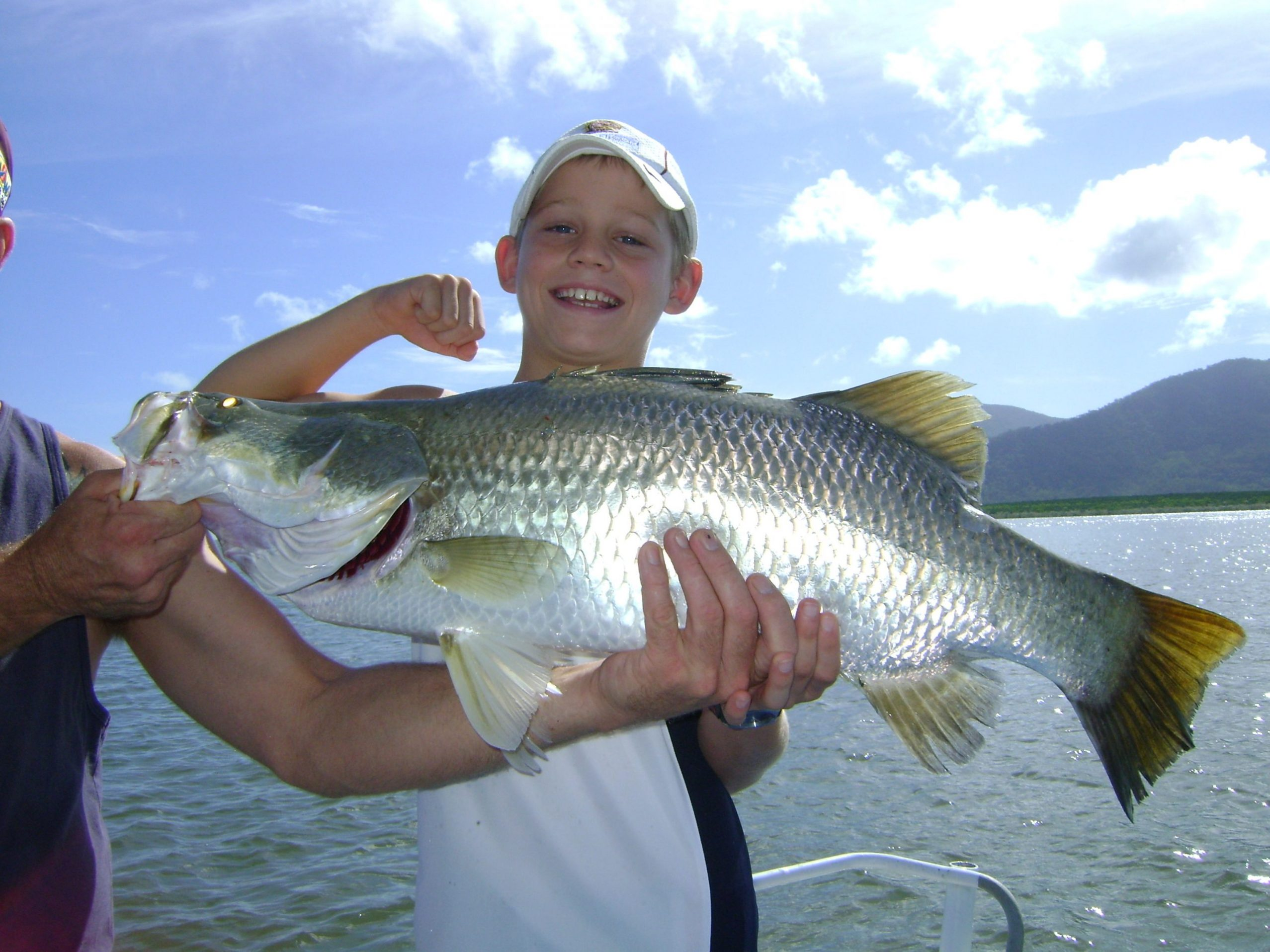 Estuary Fishing for Barramundi in Trinity Inlet, Cairns