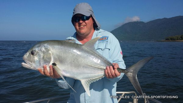 River Fishing for Giant Trevally on Poppers