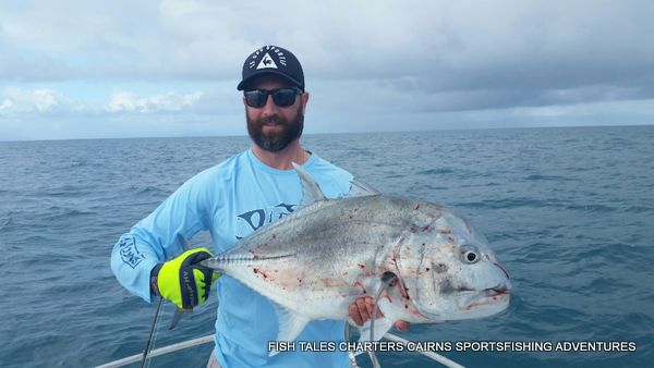 GT Popper fishing on the Reef for Giant Trevally