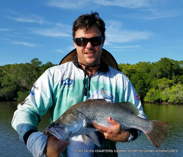 Ryan 20th February 2018 Barramundi Fishing in Cairns