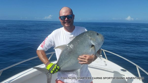 Fish Tales Charters Cairns Sportsfishing Adventures Estuary River and Reef Fishing