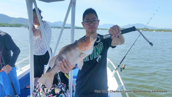 Estuary fishing for Fingermark (Golden snapper)