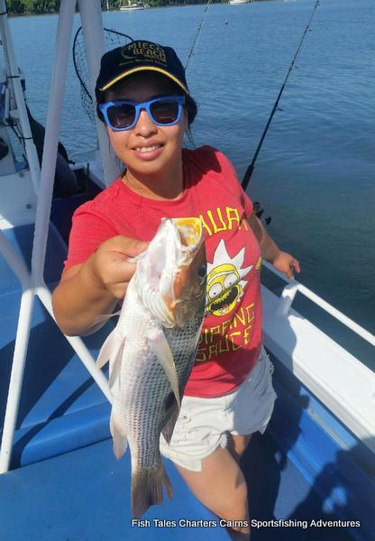 Estuary fishing for Fingermark (Golden snapper)
