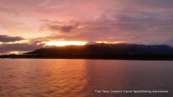 6.15 am over Trinity Inlet, Cairns