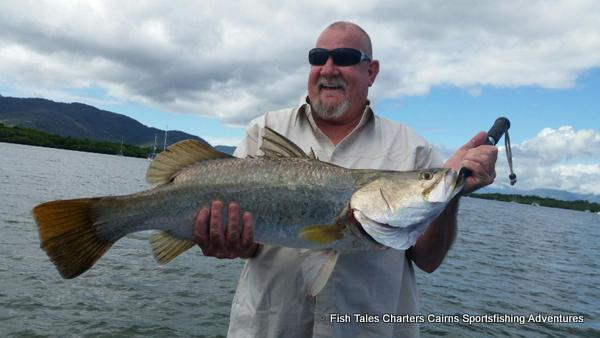 Barramundi fishing charter from Cairns, Queensland, Australia