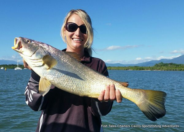 Estuary fishing charter from Cairns in Tropical North Queensland