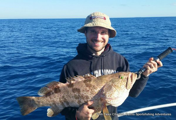 Reef fishing charter from Cairns