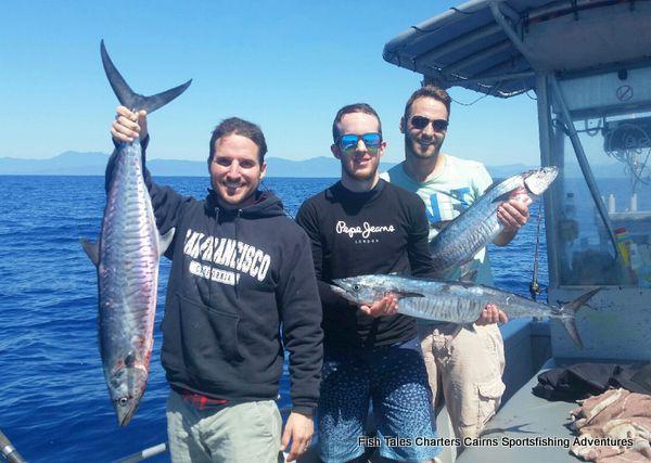 Ben, Silvan & Manuel Spanish Mackerel