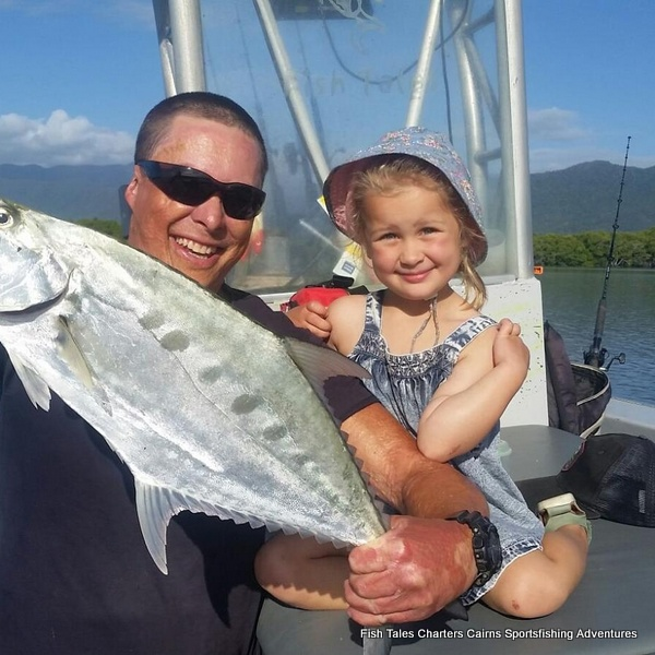Guided Estuary fishing charter from Cairns in Tropical North Queensland, Australia