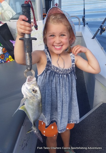 Evie and her Trevally
