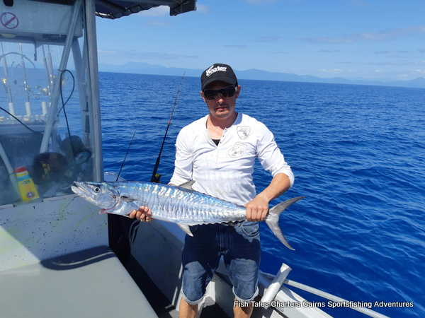 Jaime and his Spanish Mackerel