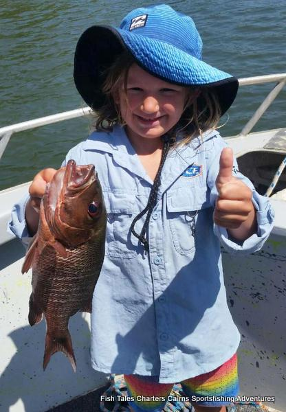Fish Tales Charters Cairns River fishing on the Mulgrave & Russell Rivers and Mutchero Inlet.