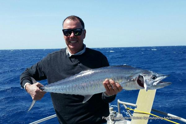 Russell and his Spanish Mackerel