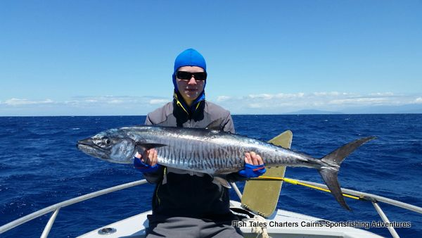 Guided fishing charter on the Great Barrier Reef from Cairns, Queensland