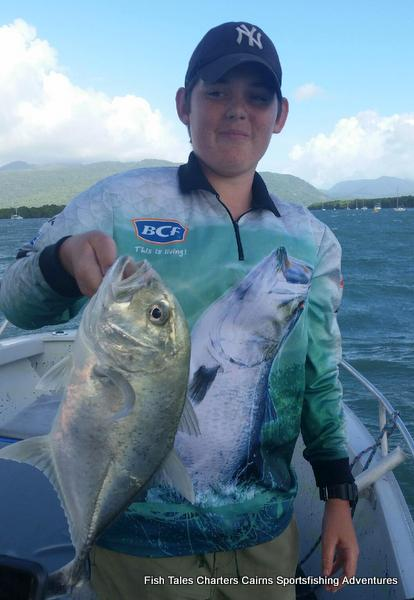 Trevally fishing in the estuary of Trinity Inlet, Cairns