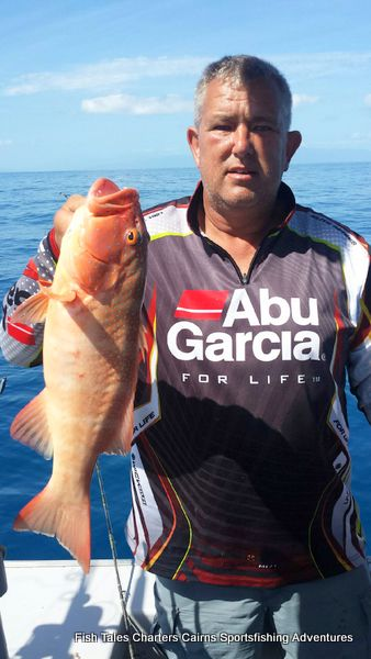 Frank and his Common Coral Trout
