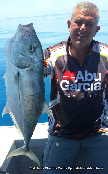 Frank and his Tea leaf Trevally