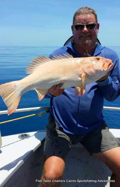 Darryl and his Barred-cheek Coral Trout
