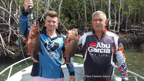 Sportsfishing for Mangrove Jacks on the Mulgrave & Russell Rivers and Mutchero Inlet
