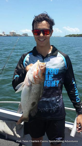 Estuary fishing for Fingermark