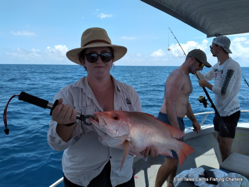 Fish Tales Charters Cairns Reef fishing on the Great Barrier Reef
