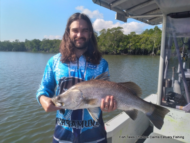 Fish Tales Charters Cairns Estuary Fishing in Trinity Inlet, Cairns
