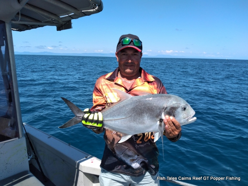 Fish Tales Charters Cairns GT Reef Popper Fishing Charter